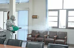office disinfection, office disinfecting, commercial disinfection